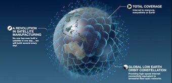 OneWeb va être rachetée un milliard de dollars par le Royaume-Uni et l'indienBharti Global