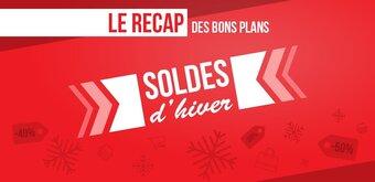 Soldes hiver 2020 : le récap' des bons plans, édition spéciale 3e démarque