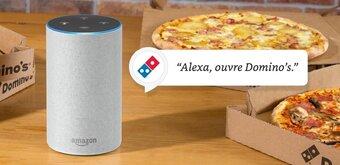 On a testé : commander une pizza avec Amazon Alexa
