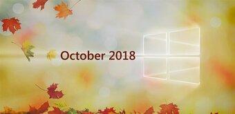 Windows 10 : plongée dans la mise à jour majeure October 2018