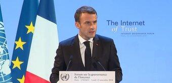Appel de Paris : pour la cyberpaix, Macron entre régulation et coopération avec les géants du Net