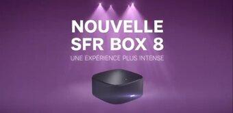 SFR détaille sa Box 8 (modem et décodeur TV), disponible pour 5 euros par mois
