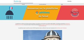 Les citoyens peuvent désormais proposer des lois aux sénateurs,via des e-pétitions