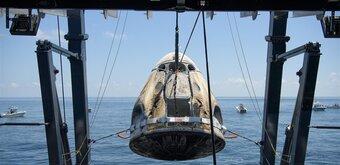 Crew Dragon : SpaceX écrit « une page d'histoire », Thomas Pesquet prépare sa mission Alpha