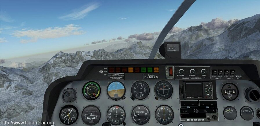 simulateur de vol gratuit flightgear