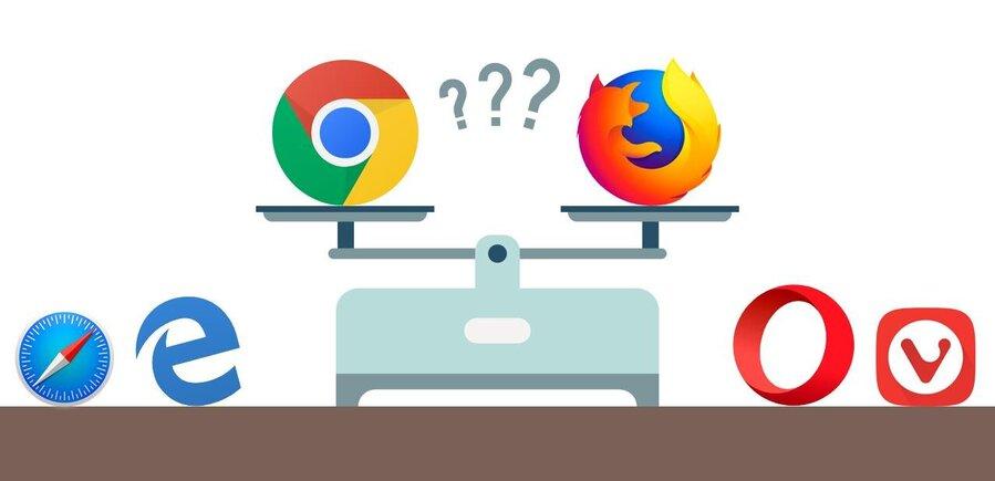 Entre Chrome Et Firefox Un Large Tronc Commun Et De Legeres