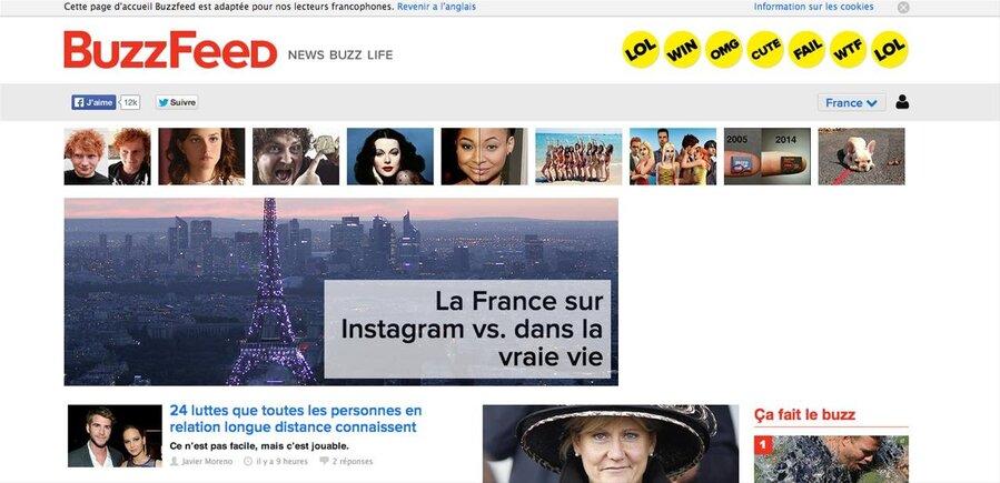 Buzzfeed Top sites de rencontres