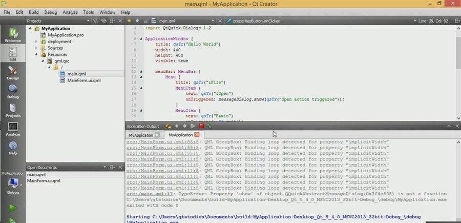 Qt 5 4 améliore son support des technologies du web et de WinRT