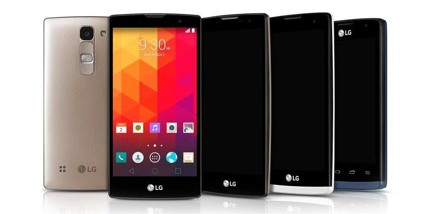 LG Devoile Quatre Smartphones 4G De 4 A 5 Sous Android 50