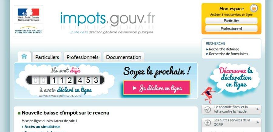 Impots Sur Les Revenus 2014 Ouverture Du Site Et Mise A Jour Des