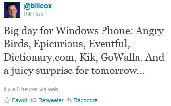 tweet bill cox