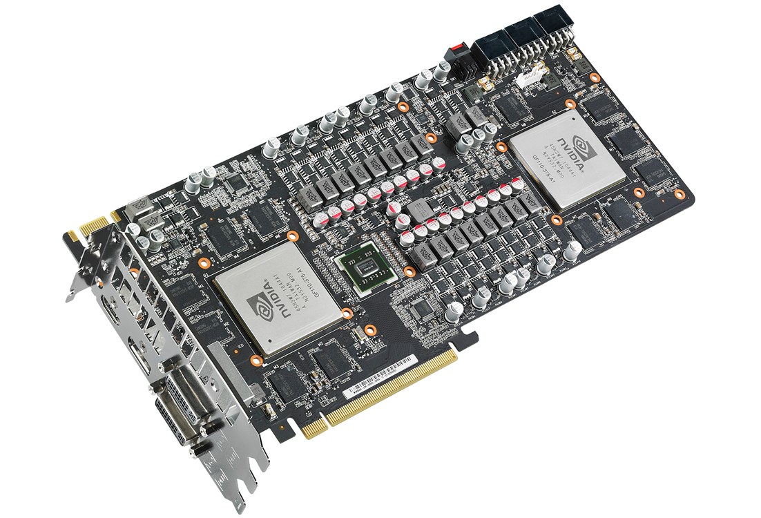 asus mars ii deux gtx 580 sur un pcb en dition limit e. Black Bedroom Furniture Sets. Home Design Ideas