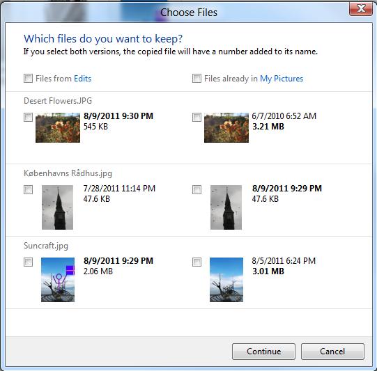 Windows 8 revoit les opérations de copies et déplacements
