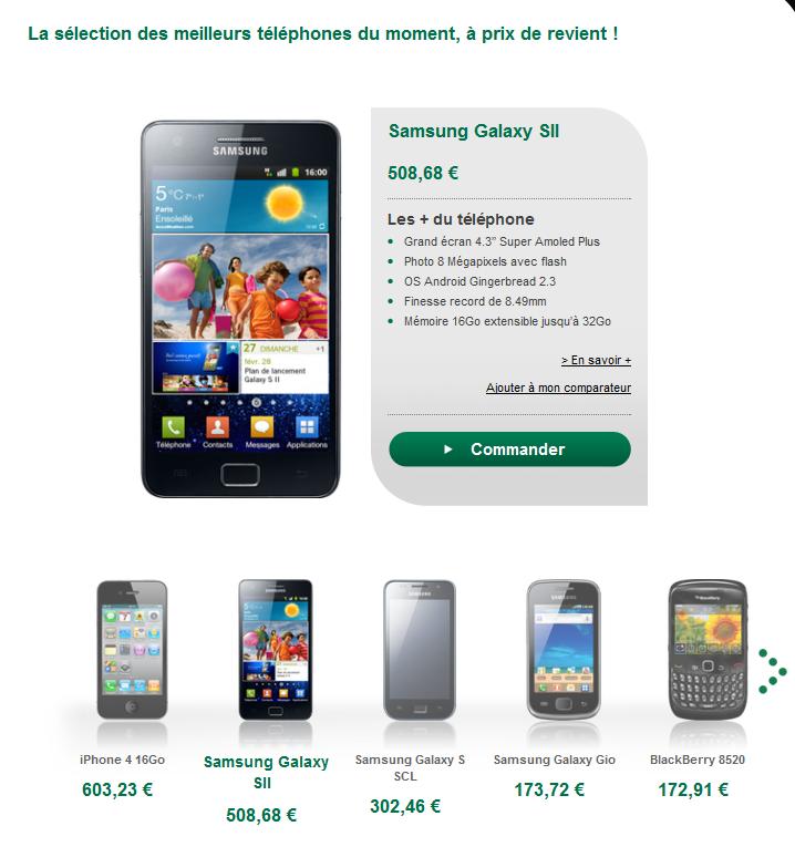 B you payez votre smartphone en plusieurs fois sans frais - Achat telephone en plusieurs fois ...