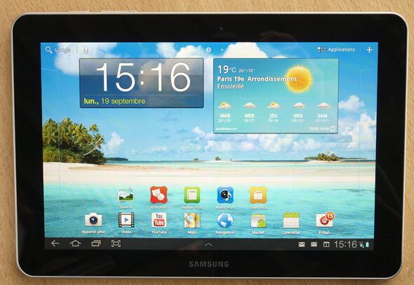 samsung galaxy tab 10 1 la meilleure des tablettes android. Black Bedroom Furniture Sets. Home Design Ideas