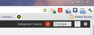 Notifications Google+ Extension Chrome