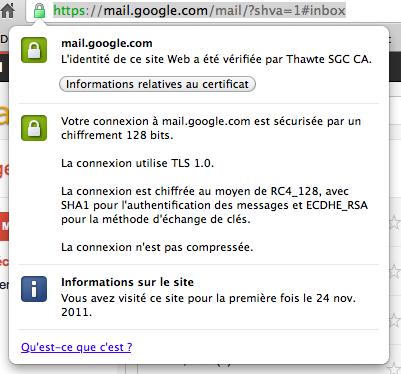 google forward secrecy