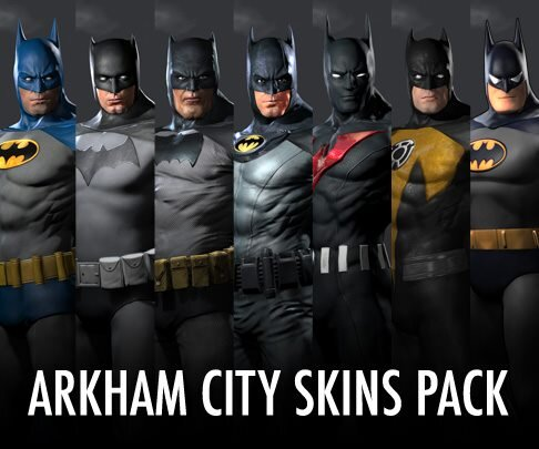Batman Arkham City DLC Skins