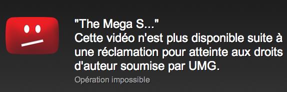MegaUpload Universal Music YouTube