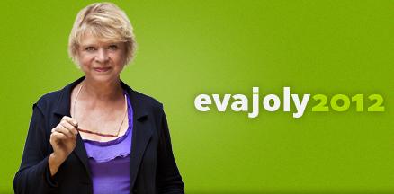 Eva Joly Europe Ecologie Verts