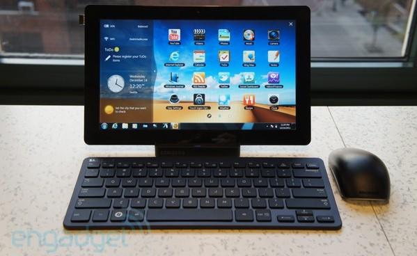 samsung slate 7 une tablette de 11 6 pouces sous windows. Black Bedroom Furniture Sets. Home Design Ideas
