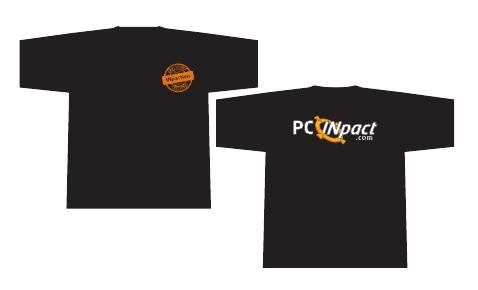 T-Shirts PC INpact 2012 Noir