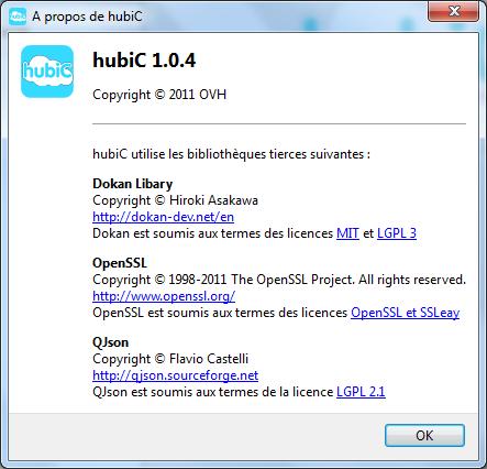 HubiC 1.0.4