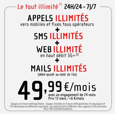 NRJ Mobile ultimate illimité