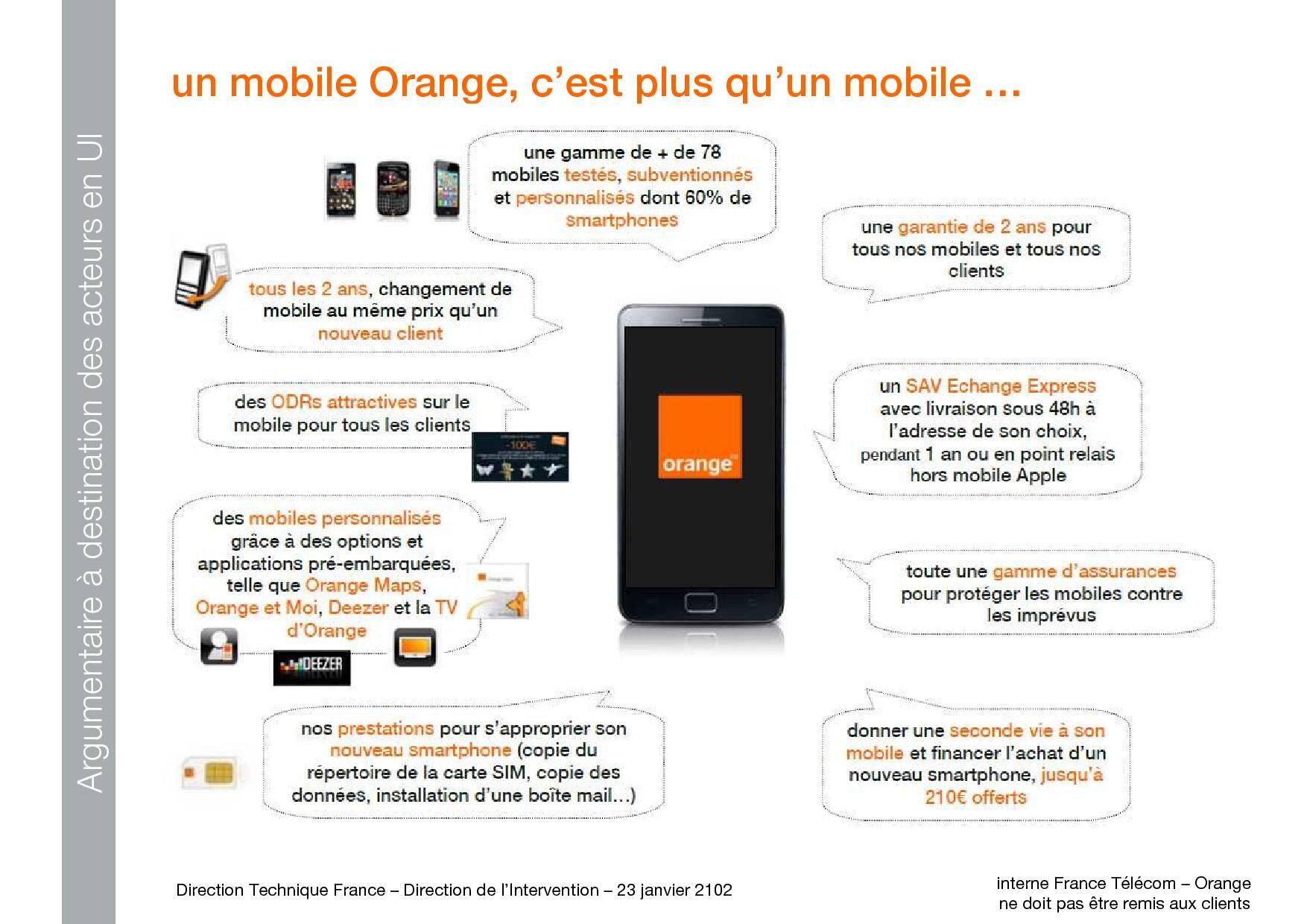 L Argumentaire D Orange Pour Lutter Contre Free