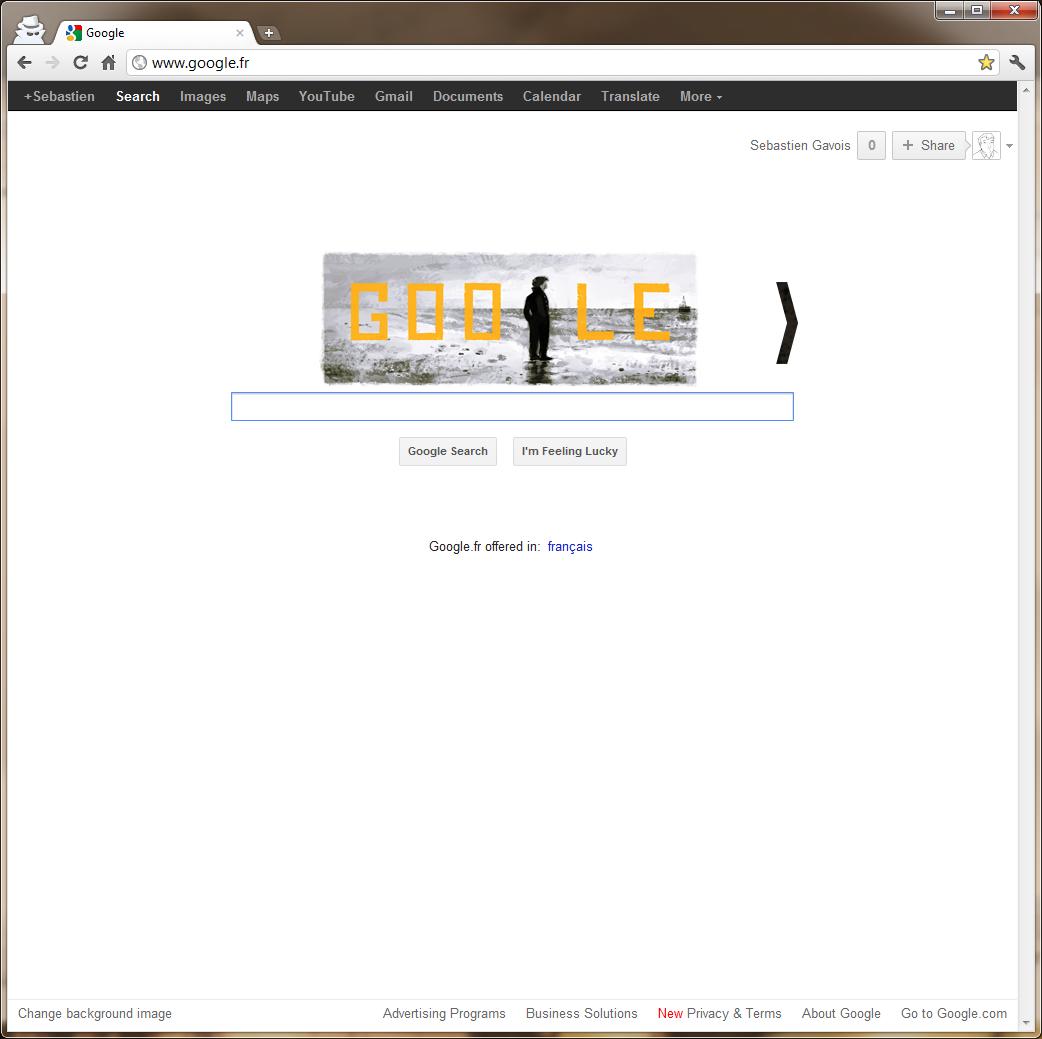 Fenetre En Bandeau Definition google teste une nouvelle barre : bandeau noir et google+ a