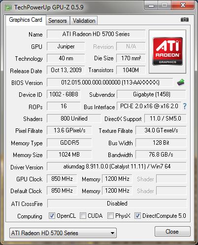 GPU-Z 0.5.9