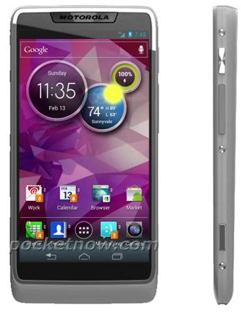 Motorola smartphone Medfield
