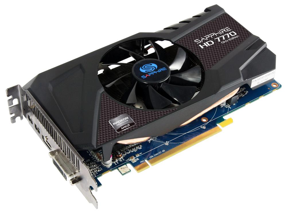 Pubg Radeon Hd 7750: Radeon HD 7700 : Sapphire Présente Trois Cartes, Dont Une