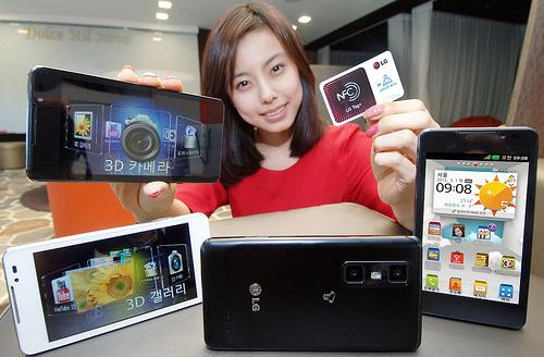 LG optimus Cube 3D