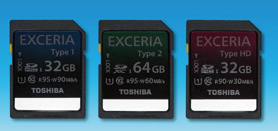 Toshiba Exceria HD Type 1 2