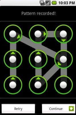 android pattern shema