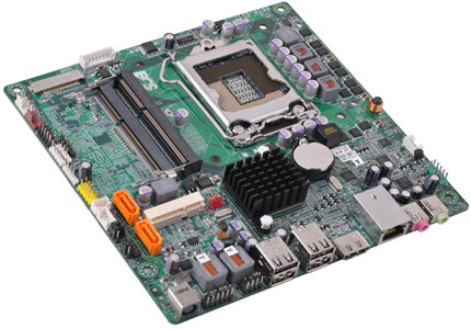 ECS  thin ITX H61H2-G11