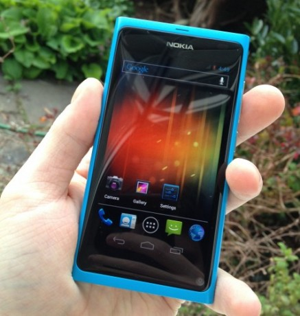 Nokia N9 Android 4.0 (theunlockr)