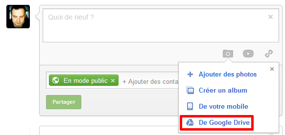 Google plus Drive