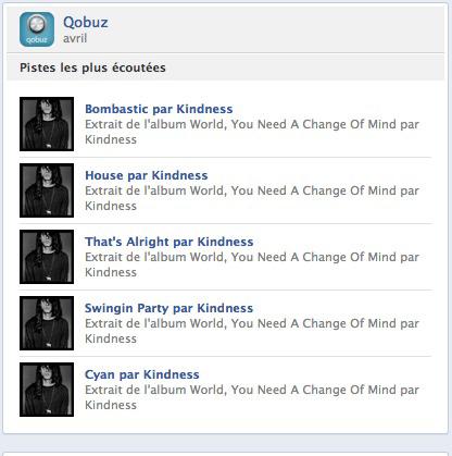 Qobuz Facebook