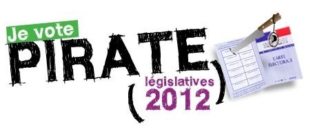 Parti Pirate français legislatives 2012