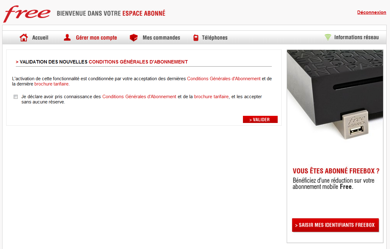 free mobile rattachez un compte freebox et profitez de la r duction. Black Bedroom Furniture Sets. Home Design Ideas
