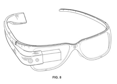 brevet google glass lunettes