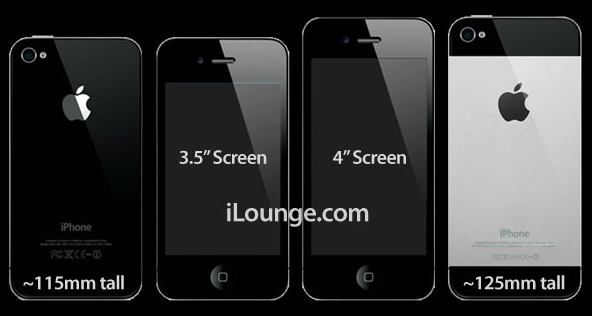 l 39 iphone 5 d 39 apple pourrait tre arm d 39 un cran de 4 pouces. Black Bedroom Furniture Sets. Home Design Ideas