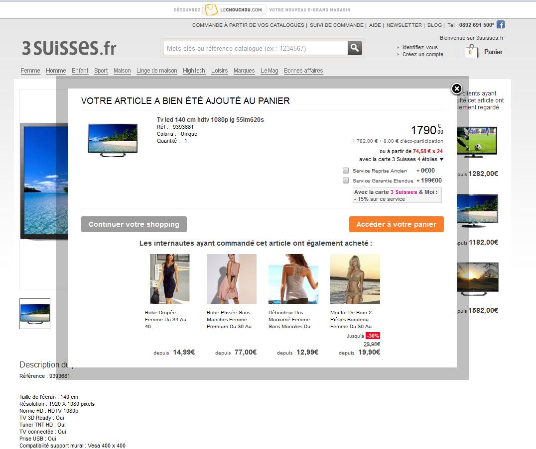 29343 quand un code promo offre 50 sur les m j - Www 3 suisses fr ...