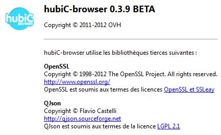 hubic-brower 0.3.9