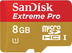 Sandisk Extreme Pro MicroSDHC