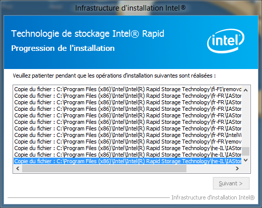 Windows 8 Intel RST 11.5