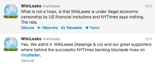 tweet wikileaks times