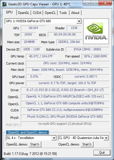 GPU Caps Viewer 1.17.0